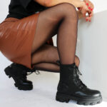 Melisa/Black - Sock boots