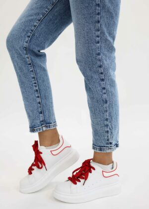 Lina/White Red - Sneakers