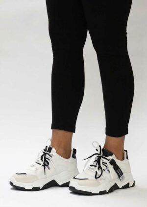 Ayzah/Black - Sneakers met dubbele veters | Original Villamoo sneakers |
