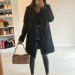 Teddy coat/Black