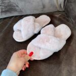 Ashley/Pink Nude - Fluffy slides